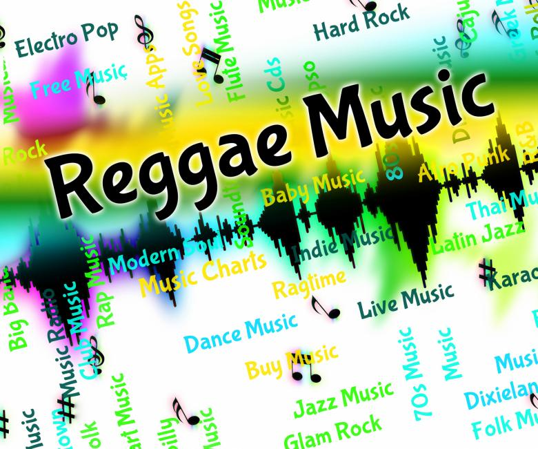 Free Stock Photo of Reggae Music Means Sound Tracks And Calypso Created by Stuart Miles