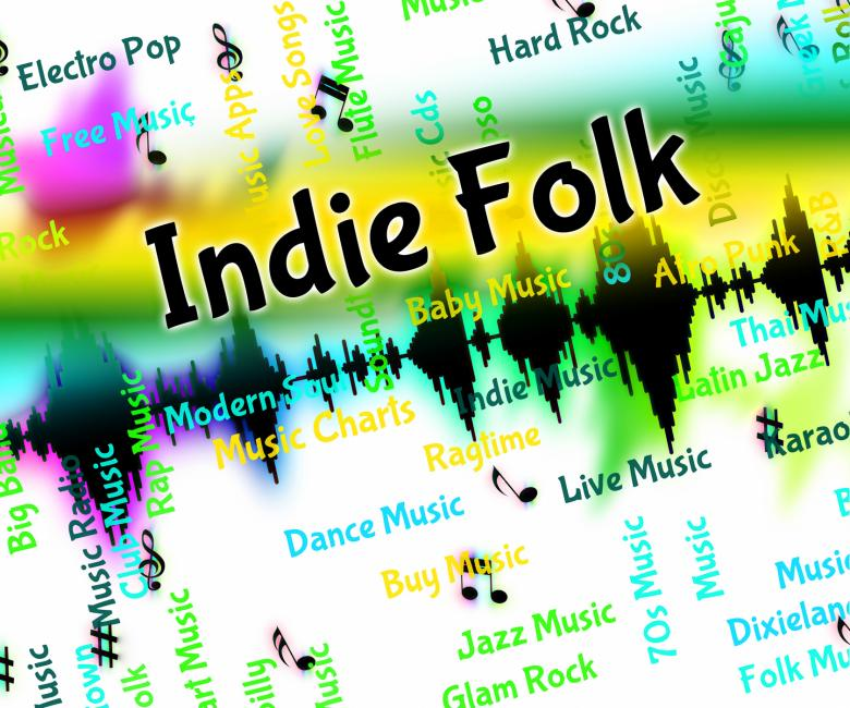Free Stock Photo of Indie Folk Represents Sound Track And Audio Created by Stuart Miles