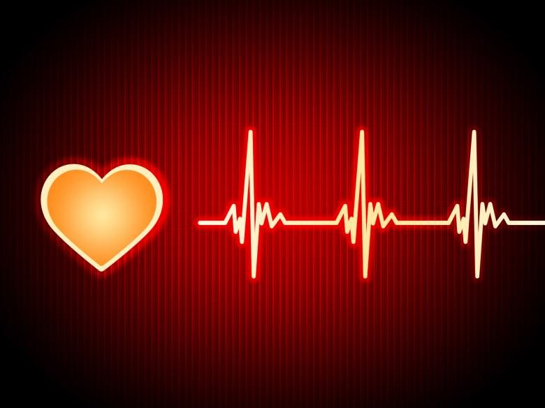 Red Heart Background Shows Pumping Blood And Alive - Free Fitness Stock Photos