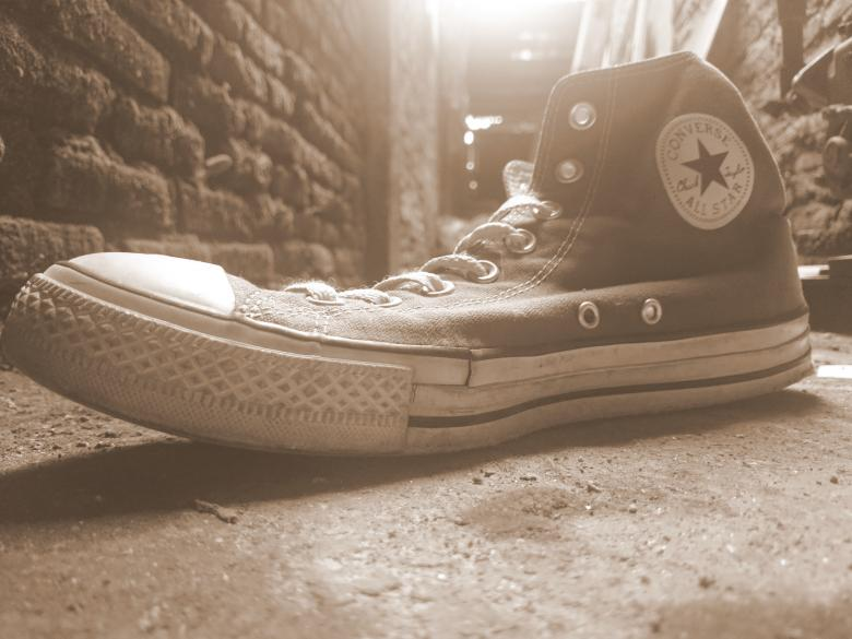 4426fd2d4a3 Free Stock Photo of Old Converse Shoe Created by febri nura tarigan
