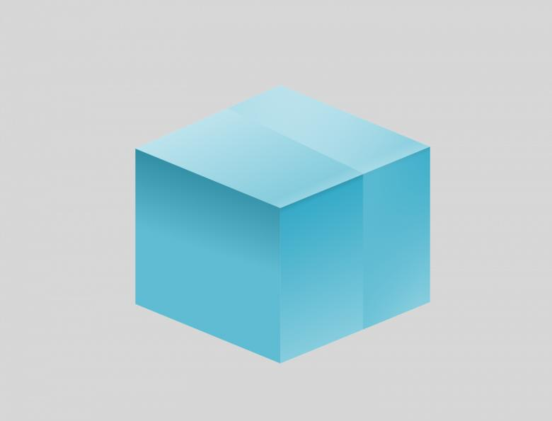 Free Stock Photo of 3D Blue Box Created by pixloger