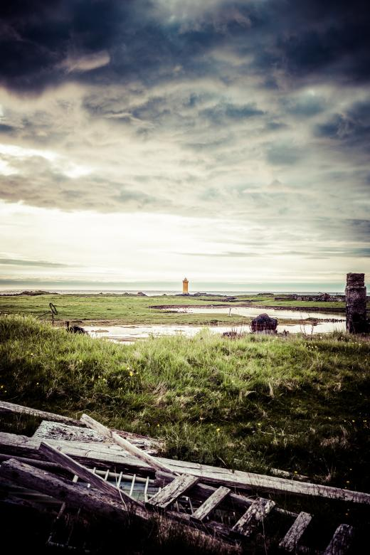 Free Stock Photo of Lighthouse in the Distance Created by Bjorgvin