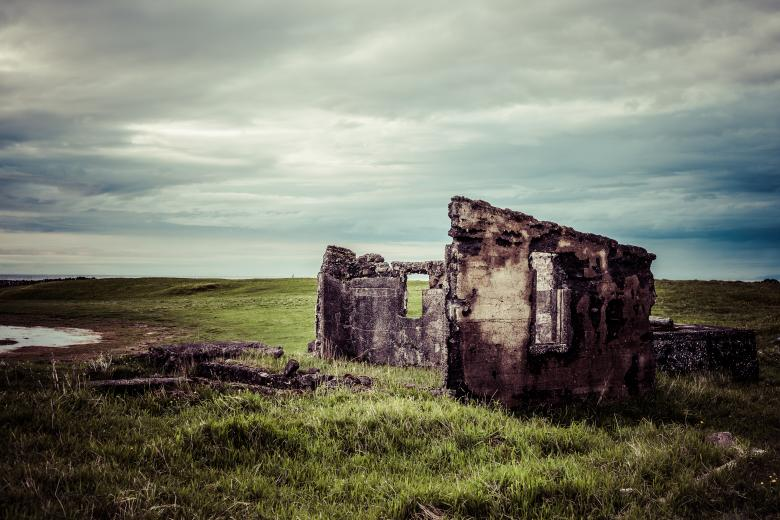 Free Stock Photo of Old Icelandic Ruins Created by Bjorgvin Gudmundsson