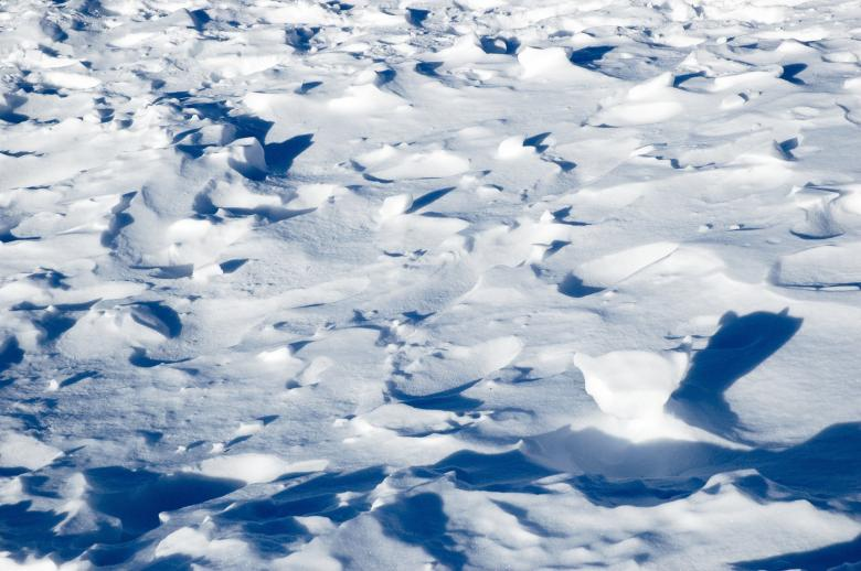 Snow Fields - Free Abstract Winter Stock Photos