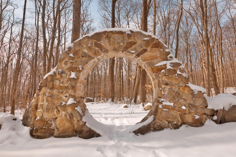 Free Stock Photo of Winter Celtic Eye Trail - HDR Created by Nicolas Raymond