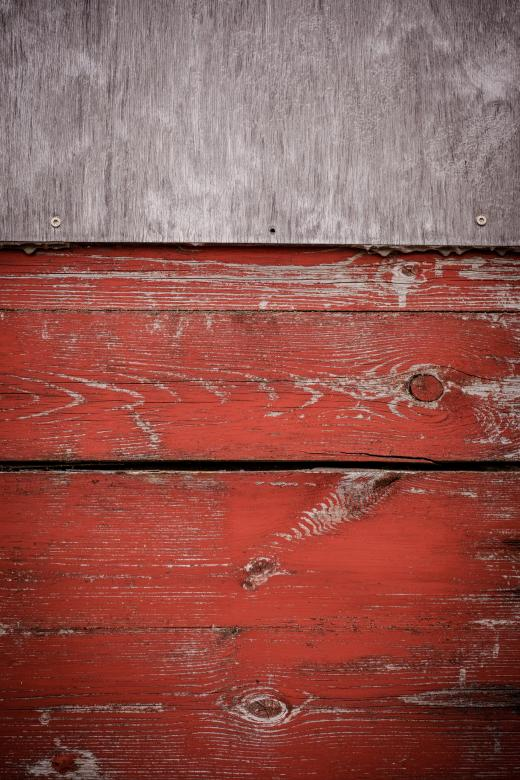 Free Stock Photo of Grungy Red Wood Texture Created by Bjorgvin