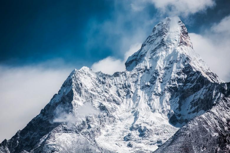 Free Stock Photo of Ama Dablam Created by Pixabay