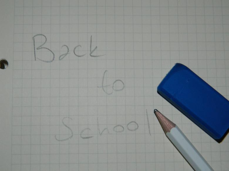 Handwriting Back to School Free Photo