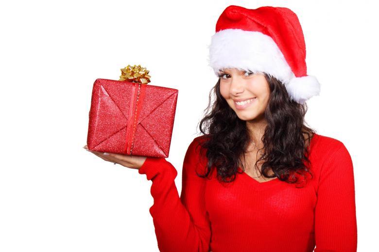 Girl on Christmas - Free Christmas Stock Photos