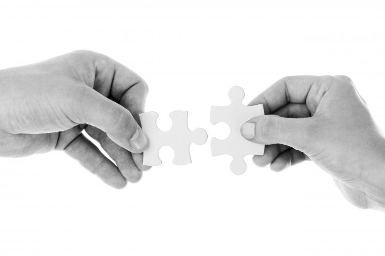 Solving the Puzzle - Free Stock Photo by Pixabay on Stockvault.net