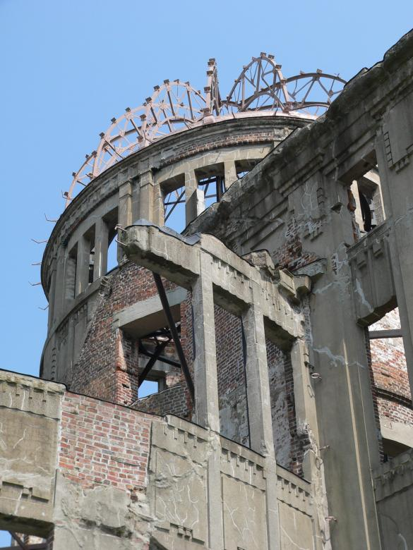 Free Stock Photo of Hiroshima Atomic Bomb Dome Created by James Jack