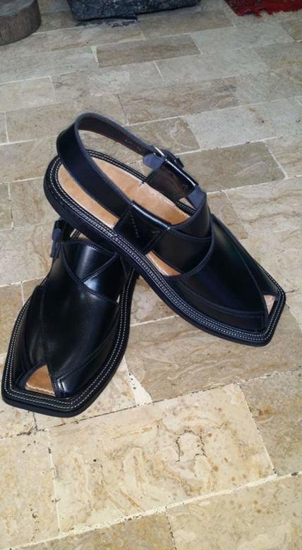 Black Leather Sandals Free Photo