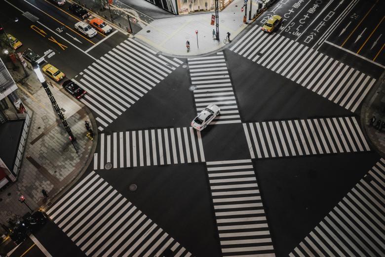 The Crosswalk - Free Urban Stock Photos