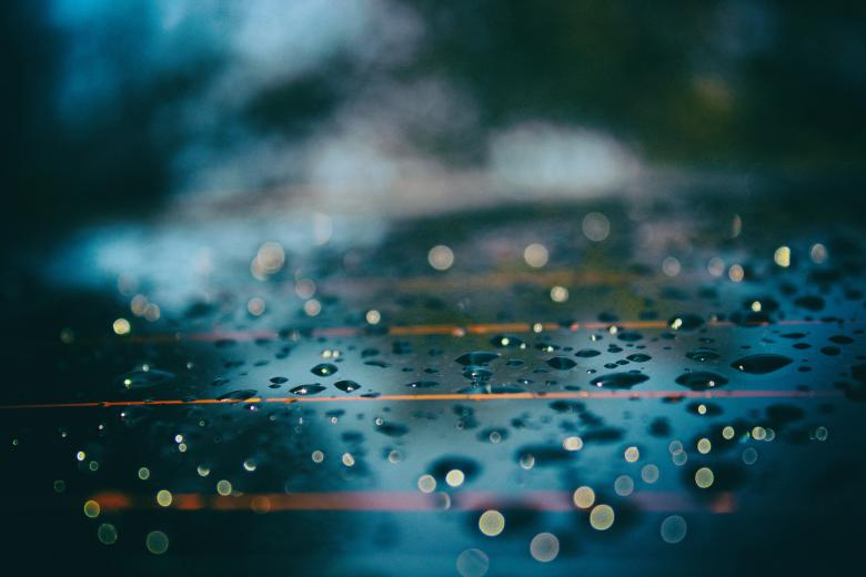 Free Stock Photo of Rain Drops Created by Pixabay