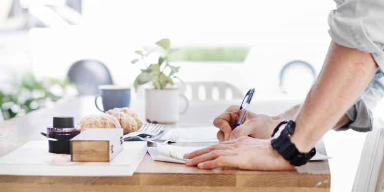 Free Stock Photo of Working on the Table