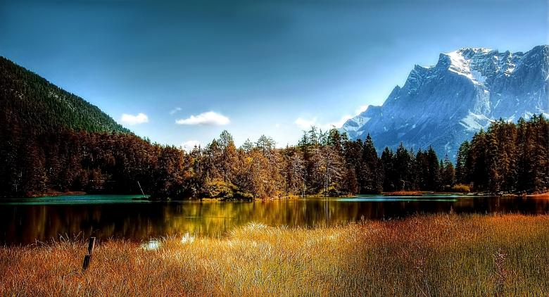 Lake Weissensee - Free Forest Stock Photos
