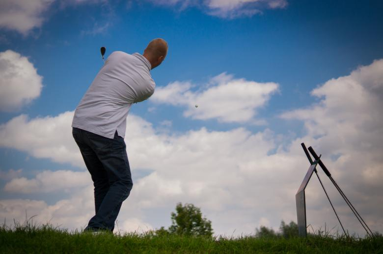Free Stock Photo of Playing Golf Created by Pixabay