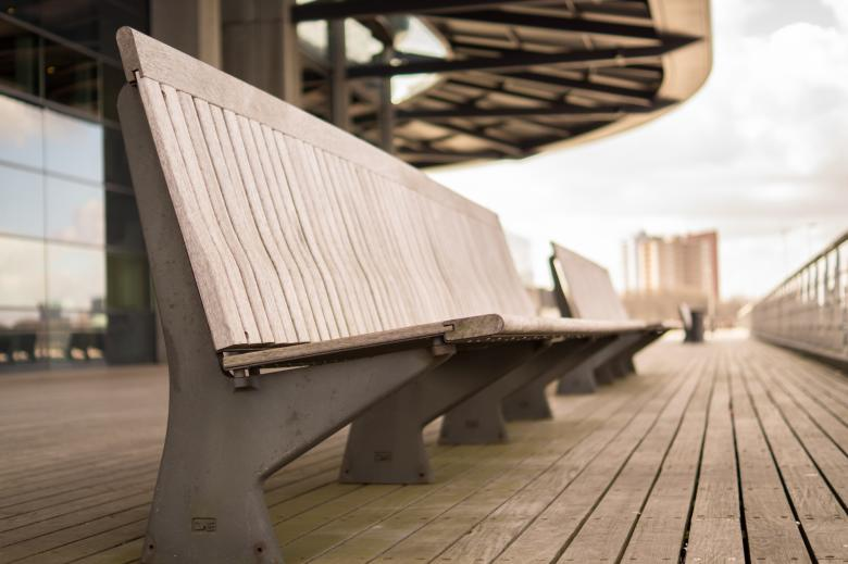 Free Stock Photo of Bench for Sitting Created by Pixabay