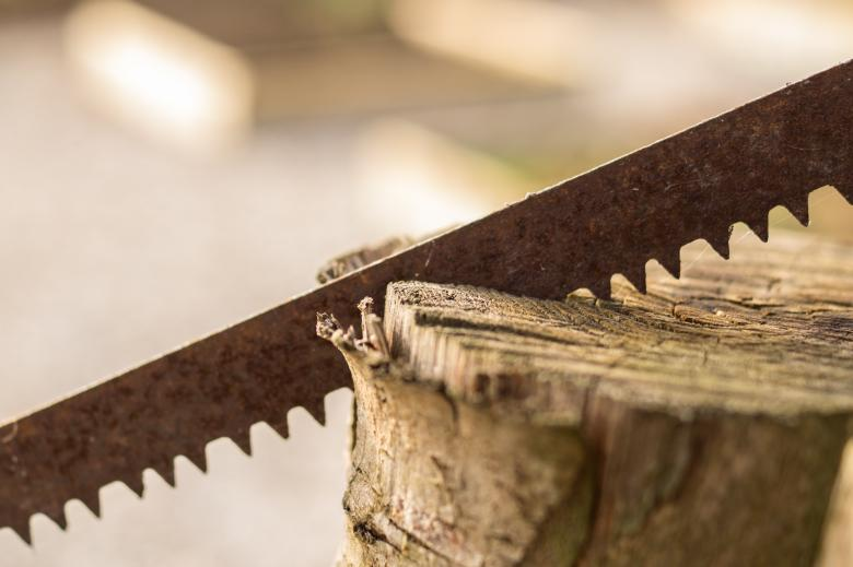 Free Stock Photo of Rusted Saw Created by Pixabay