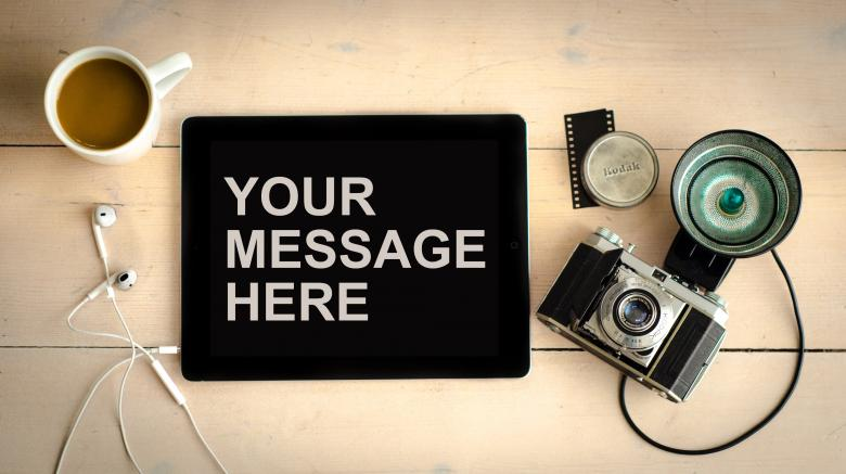Free Stock Photo of Your Message Here Created by Pixabay