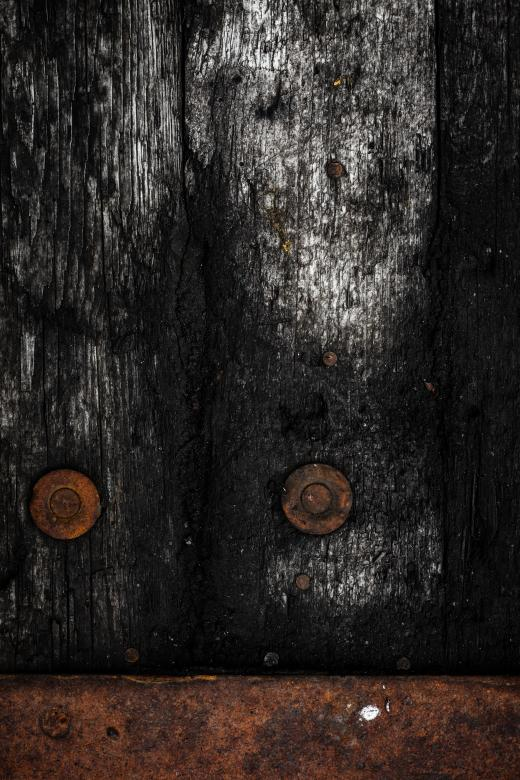 Free Stock Photo of Rotting Wooden Background Created by Free Texture Friday