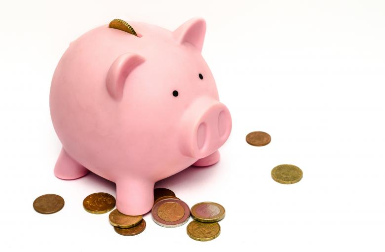 Free Stock Photo of Piggy Bank