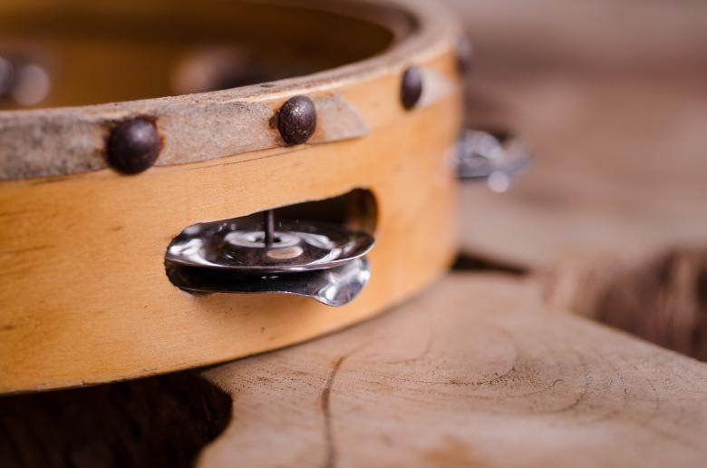 Free Stock Photo of Tambourine Created by Pixabay