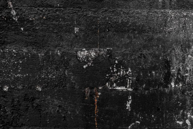 black wall texture. Scratched Grunge Black Wall Free Stock Photo Texture