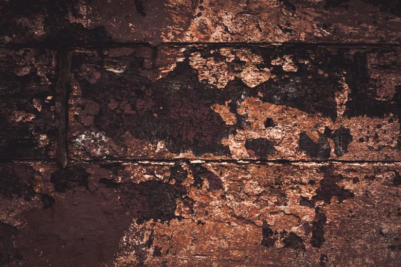 Free Stock Photo of Peeled Paint on Grunge Wood Texture Created by Free Texture Friday