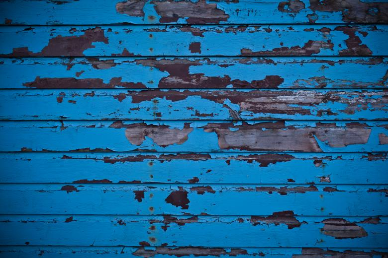 Blue Peeled Paint Garage Door Texture Free Stock Photo by Free