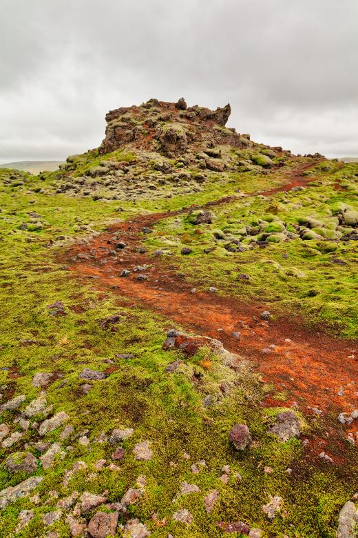 Free Stock Photo of Green Lava Trail Created by Nicolas Raymond
