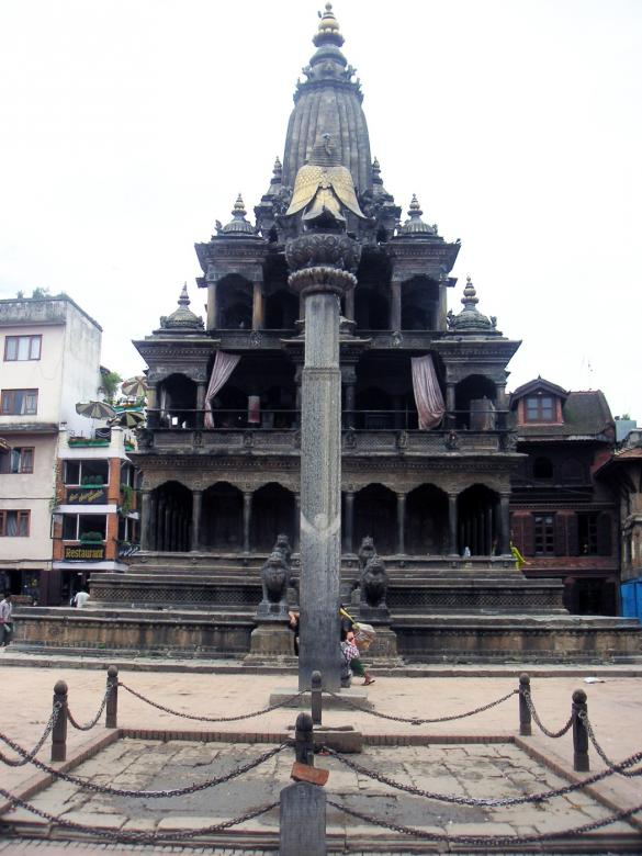 Free Stock Photo of Budhist Temple in Nepal Created by VIJOY M ALEXANDER
