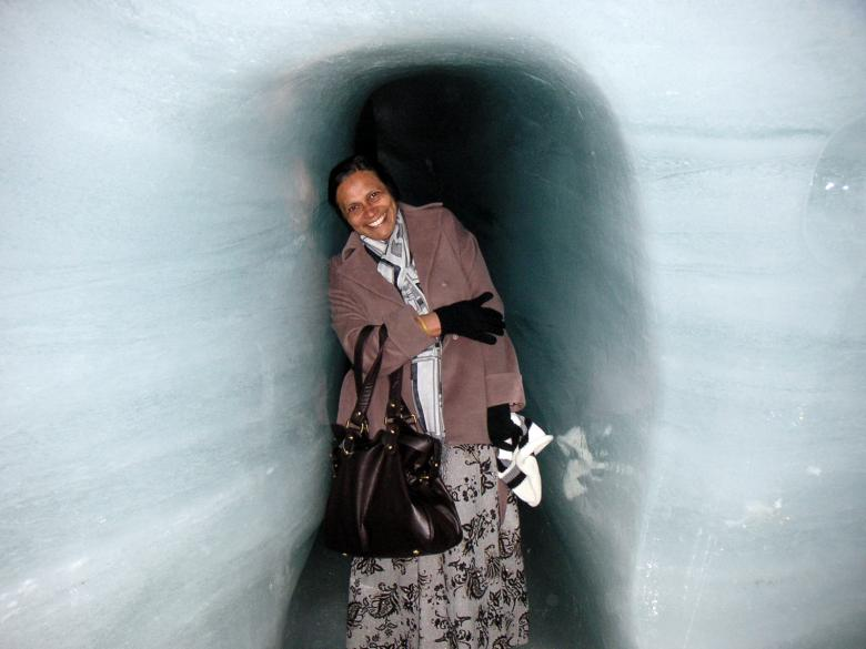 Free Stock Photo of Ice Cave Created by VIJOY M ALEXANDER