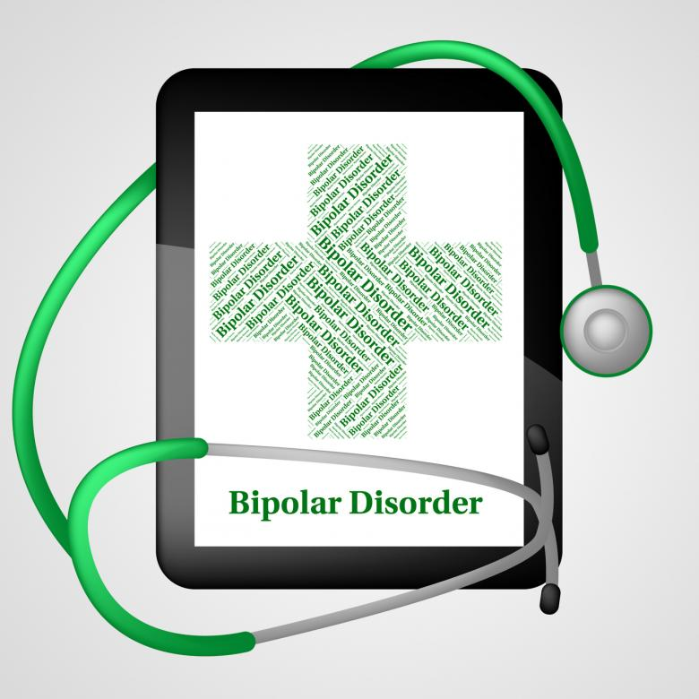 Free Stock Photo of Bipolar Disorder Represents Manic Depressive Psychosis And Ailme Created by Stuart Miles