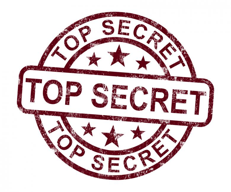Free Stock Photo Of Top Secret Stamp Shows Classified Private Correspondence Created By Stuart Miles