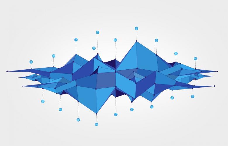 Big Data Analysis Abstract Concept - Light Version - Free Technology Stock Photos