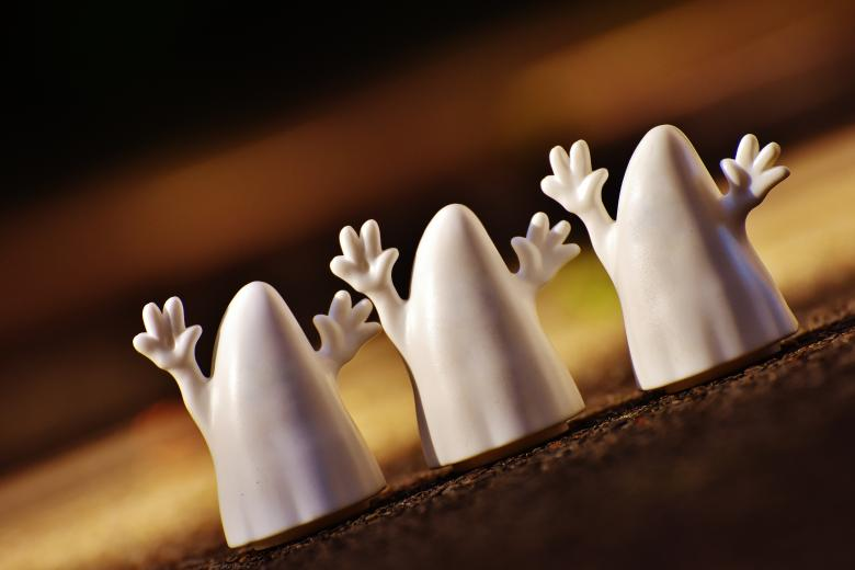 Free Stock Photo of Halloween Ghosts