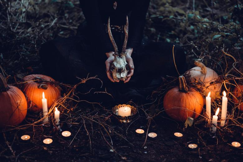 Free Stock Photo of Creepy Halloween