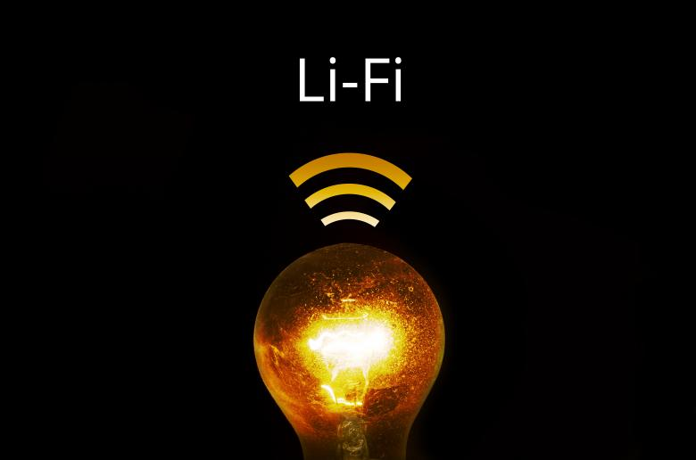 Free Stock Photo of Glowing Bulb with Li-Fi Text Created by Lukas