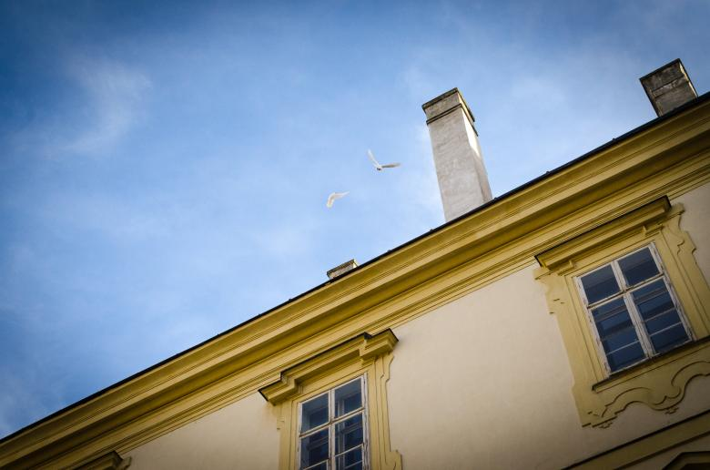 Free stock image of Rooftop with Chimney created by Lukas