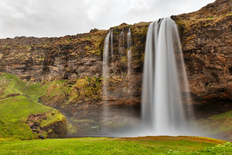Free Stock Photo of Seljalandsfoss Created by Nicolas Raymond