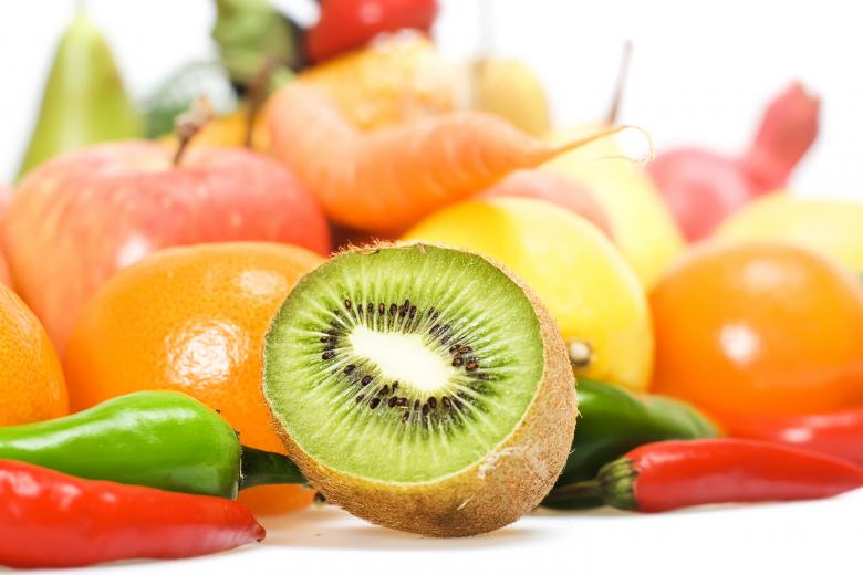 Free Stock Photo of Kiwi, Fruits and Vegetables Created by 2happy