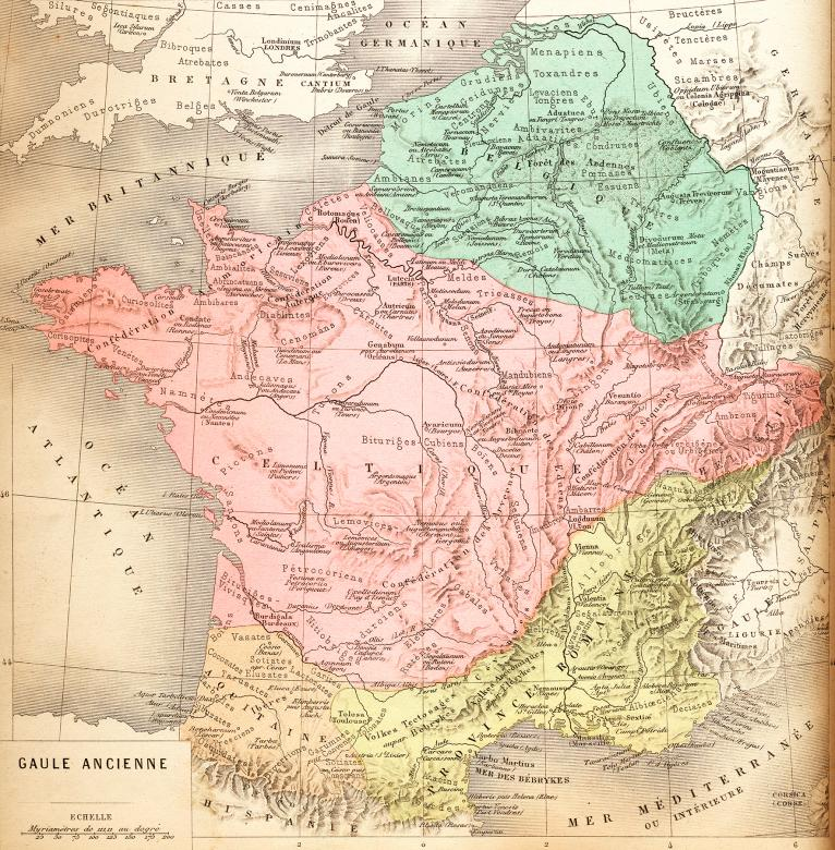 Vintage French Map - Ancient Gaul - Free Stock Photo by ... on julius caesar, dacia map, roman republic, hadrian's wall map, roman legion, numidia on a map, iberian peninsula map, thrace map, england map, sparta map, ancient rome, visigoths map, macedonia map, mark antony, battle of alesia, spain map, huns map, cisalpine gaul, hispania map, iberian peninsula, gallic empire, byzantine empire map, alexandria map, sicily map, gallic wars, greece map, carolingian dynasty, zama map, pyrenees map, decline of the roman empire, constantinople map, athens map,