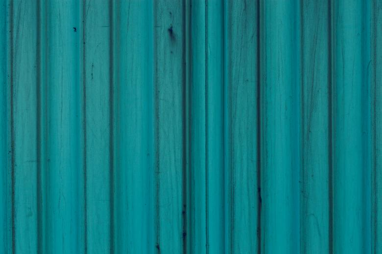 Free Stock Photo of Blue Corrugated Background Created by Free Texture Friday