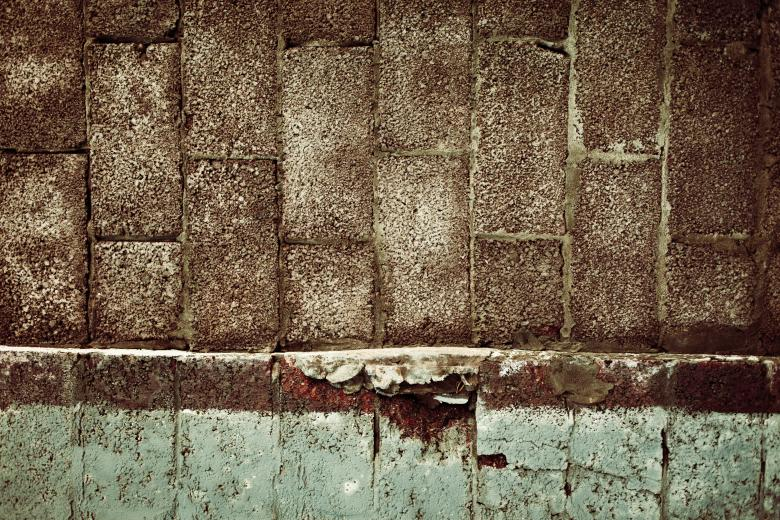 Free Stock Photo of Grunge Brick Border Surface Created by Free Texture Friday