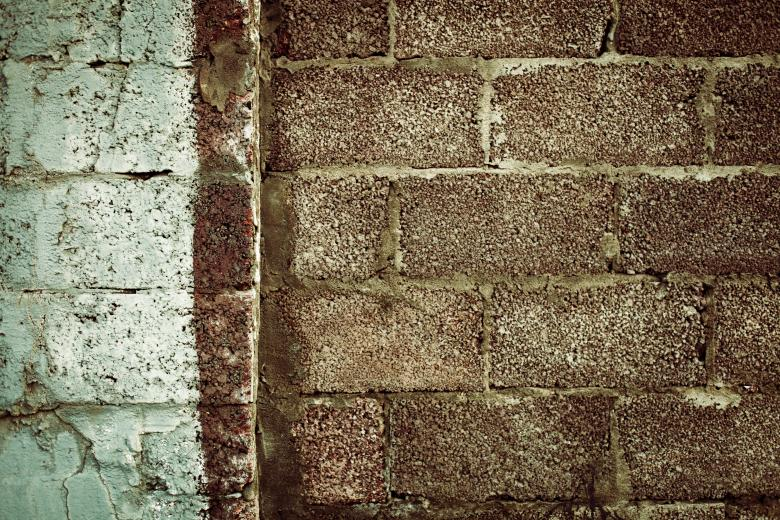 Free Stock Photo of Grunge Brick Border Texture Created by Free Texture Friday