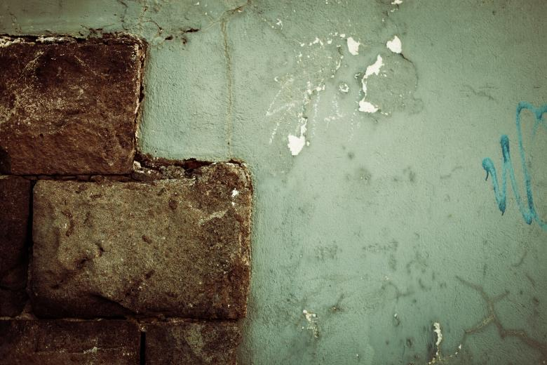 Free Stock Photo of Grunge Brick Wall Texture Created by Free Texture Friday