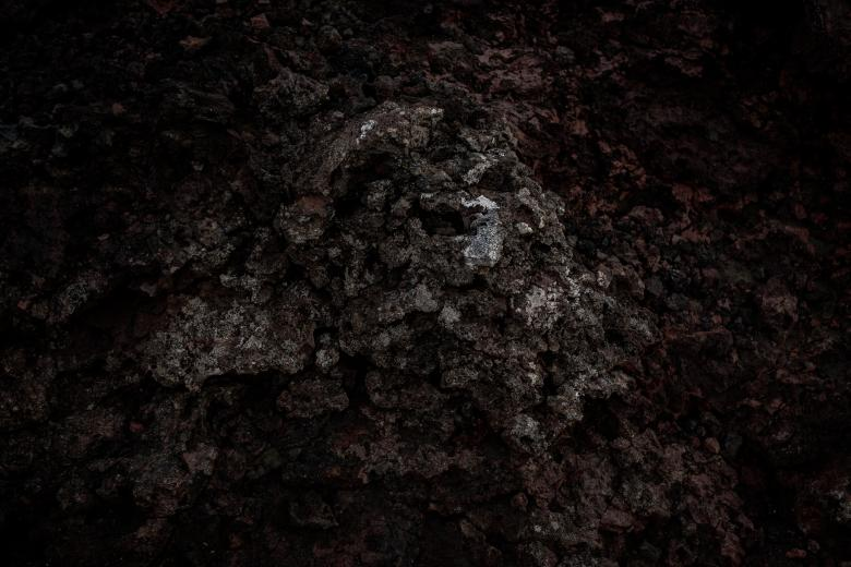 Free Stock Photo of Dark Volcanic Lava Texture Created by Free Texture Friday