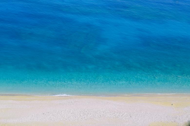 Free Stock Photo of Myrtos Beach Kefalonia Island Shore Sea Created by Dana Tentis
