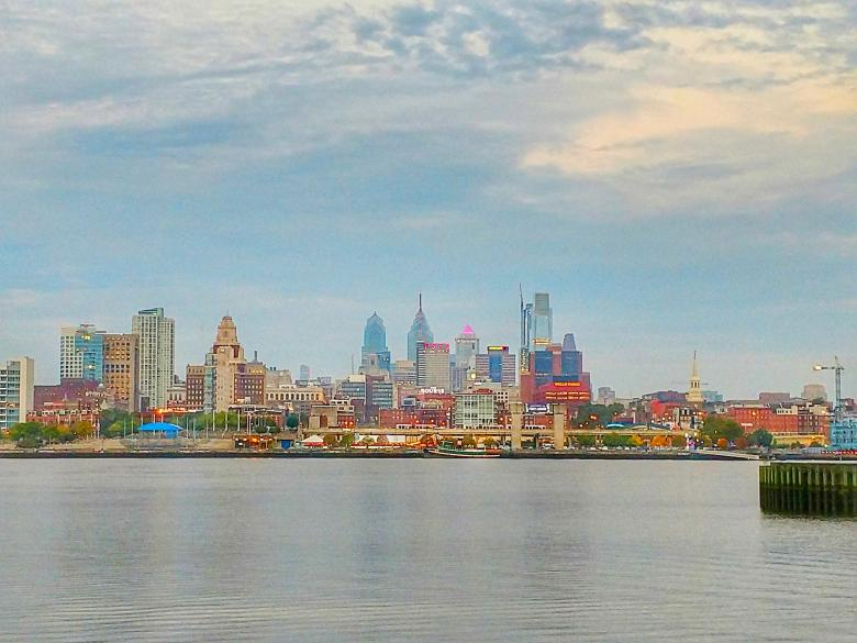Free Stock Photo of City View of Philadelphia Pennsylvania Created by agphotostock.com